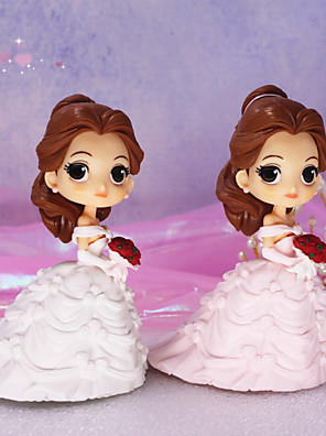 cheap Bridesmaid Dresses-Cake Topper Classic Theme / Holiday / Wedding Artistic / Retro / Unique Design ABS Resin Wedding / Birthday with Splicing 1 pcs OPP