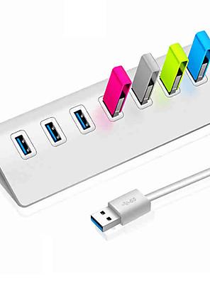 cheap Wireless Chargers-USB 3.0 to USB 3.0 USB Hub 7 Ports High Speed