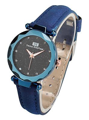 cheap Bracelet Watches-Women's Bracelet Watch Classic Fashion Black Red Brown PU Leather Chinese Quartz Purple Dark Green Dark Navy Casual Watch 30 m 1 pc Analog One Year Battery Life / Jinli 377