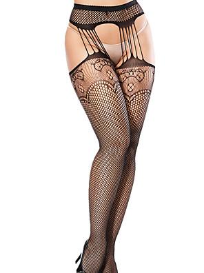cheap Socks & Hosiery-Women's Thin Pantyhose - Sexy 30D Black One-Size
