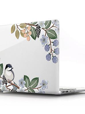 "cheap Mac Accessories-MacBook Case Flower PVC(PolyVinyl Chloride) for MacBook Air 13-inch / New MacBook Pro 15-inch / New MacBook Air 13"" 2018"
