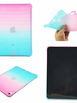 cheap iPad case-Case For Apple iPad Air / iPad 4/3/2 / iPad Mini 3/2/1 Shockproof Back Cover Color Gradient Soft TPU / iPad Pro 10.5 / iPad (2017)