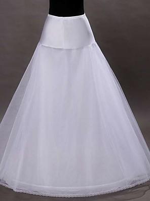 cheap Wedding Slips-Petticoat Hoop Skirt Tutu Under Skirt 1950s White Petticoat / Crinoline