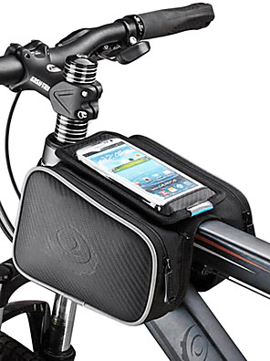 cheap Smart Watches-ROSWHEEL Cell Phone Bag Bike Frame Bag Top Tube 5.5 inch Touch Screen Cycling for Samsung Galaxy S4 Iphone 5/5S iPhone 8/7/6S/6 Black Cycling / Bike / iPhone X / iPhone XR / iPhone XS / iPhone XS Max