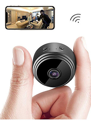 cheap Quartz Watches-A9 Upgraded Version WiFi 1080P Full HD Night Vision Wireless IP Camera Outdoor Mini Camera Camcorder Video Recorder Home Security Surveillance Micro Small Camera Remote Monitor Phone OS Android App