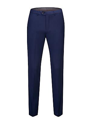 povoljno Muške košulje-Muškarci Osnovni Odijelo Hlače Jednobojni Crna Bijela Plava Klasičan Obala Crn Plava 30 31 32
