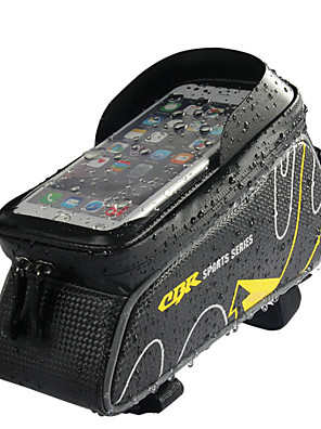 cheap Smart Watches-Cell Phone Bag Bike Frame Bag Top Tube 6 inch Waterproof Cycling for Cycling Red Dark Gray Ginger Outdoor Exercise Cycling / Bike Bike / Bicycle