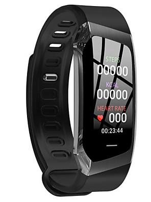 tanie Inteligentne zegarki-e18 smart watch bt 4.0 fitness tracker wsparcie powiadomienie i pulsometr wodoodporna opaska na rękę do samsung / huawei / iphone