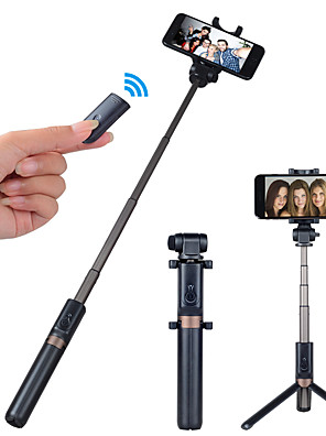 cheap Phone Mounts & Holders-APEXEL Selfie Stick Bluetooth Extendable Max Length 68 cm For Universal Android / iOS Universal