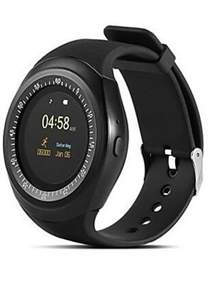 tanie Inteligentne zegarki-Y1 dzieci Inteligentny zegarek Android iOS Bluetooth Sport Wodoodporny Ekran dotykowy Spalonych kalorii Długi czas czuwania Krokomierz Powiadamianie o połączeniu telefonicznym Rejestrator aktywności