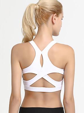 cheap Cocktail Dresses-Activewear Bra Bandage Gore Women's Training Performance Sleeveless Nylon Elastane