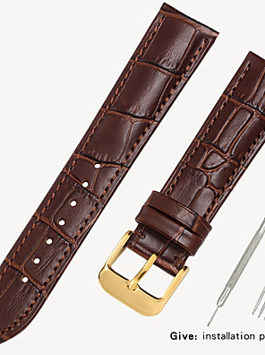 cheap Leather Watch Bands-Leather strap men's leather watch with bracelet accessories ladies substitute dw Tissang Longines Cassi Europe and the United States King 14/16/18/19mm