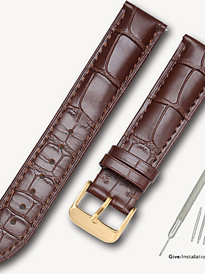 cheap Leather Watch Bands-Subsidiary Tissot 1853 Leroy watch with men's leather strap female butterfly buckle library map original accessories 14/16/18/19/20mm