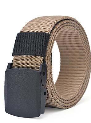 cheap Men's Belt-Unisex Party / Work / Basic Skinny Belt - Solid Colored / Polka Dot / Color Block