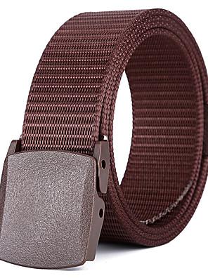 cheap Men's Belt-Unisex Work / Basic / Loose Curl Skinny Belt - Solid Colored / Color Block