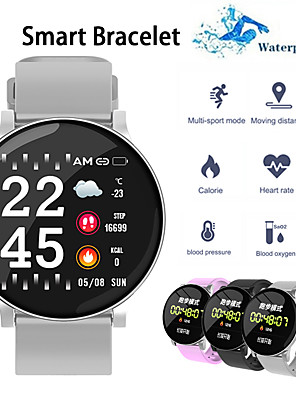 cheap Smart Watches-W8S Smart Watch BT Fitness Tracker Support Notify/ Heart Rate Monitor Sports Smartwatch Compatible with Samsung/ Iphone/ Android Phones