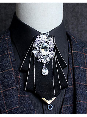 cheap Men's Accessories-Men's / Boys' Party Bow Tie - Solid Colored