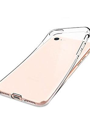 povoljno iPhone maske-Θήκη Za Apple iPhone 8 / iPhone 7 / iPhone SE (2020) Otporno na trešnju Stražnja maska Prozirno Mekano TPU