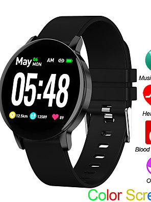 cheap Smart Watches-R5S Sports Watch Heart Rate Sleep Monitor Blood Pressure Fitness Tracker Android IOS Music Control Color Screen Band