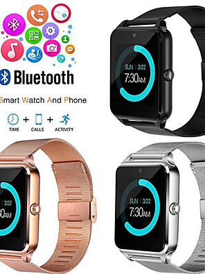 cheap Smart Watches-Z60 Smart Watch BT Fitness Tracker Support Notify/ SIM-card/ Heart Rate Monitor Sports Smartwatch Compatible Samsung/ Android/ Iphone