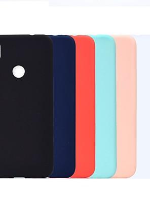 povoljno Maske/futrole za Xiaomi-Θήκη Za Xiaomi Redmi Note 5A / Xiaomi Redmi Note 5 Pro / Xiaomi Redmi Note 6 Otporno na trešnju / Mutno Stražnja maska Jednobojni Mekano TPU / Xiaomi Redmi Note 4X / Xiaomi Redmi Note 4 / Xiaomi Mi 6