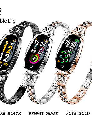 cheap Smart Watches-ST08 Smart Watch Women Waterproof Blood Pressure Heart Rate Monitoring Bluetooth For Android IOS Fitness Bracelet Smar Band