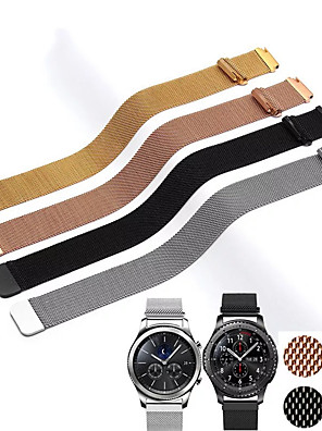 cheap Quartz Watches-20MM 22MM band for Samsung Galaxy Watch Active 42mm 46mm Gear Sport S2 S3 Milanese Loop for Amazfit Bip 18mm huawei watch1 Strap