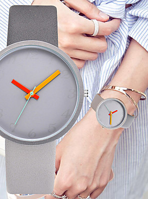 cheap Quartz Watches-Women's Quartz Watches Fashion Minimalist Black Blue Grey Silicone Chinese Quartz Blushing Pink Gray Peach Chronograph Cute Creative 30 m 1 pc Analog Two Years Battery Life