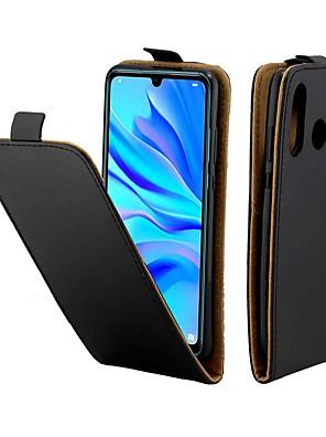 رخيصةأون Huawei أغطية / كفرات-القضية لهواوي p20 الموالية / هواوي p30 لايت المغناطيسي / الوجه / صدمات كامل الجسم الحالات الصلبة جلد طبيعي بلون لهواوي p الذكية زائد / هواوي p الذكية 2019 / p9 لايت مصغرة / p20 لايت / p30 الموالية