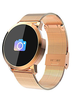 cheap Smart Watches-Smartwatch Digital Modern Style Sporty Genuine Leather 30 m Water Resistant / Waterproof Heart Rate Monitor Bluetooth Digital Casual Outdoor - Black Golden Black / Gray