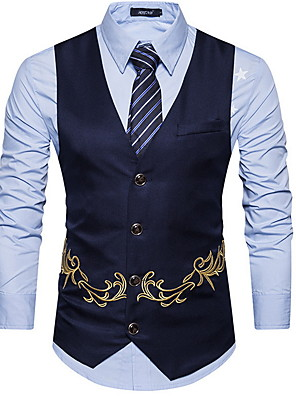 cheap Evening Dresses-Polyester Wedding Party Vests Embellished&Embroidered