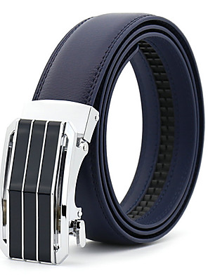 cheap Wedding Wraps-Men's Party / Work / Basic Leather Waist Belt - Solid Colored