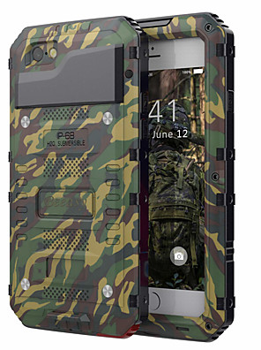 cheap iPhone Cases-Case For Apple iPhone XS / iPhone X / iPhone 8 Plus Shockproof / Water Resistant Full Body Cases Armor Hard PC