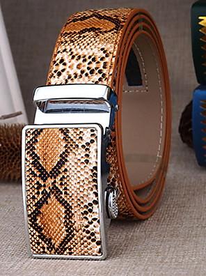 cheap Men's Belt-Men's Basic Waist Belt - Color Block