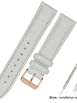 cheap Leather Watch Bands-Leather strap men's leather bracelet comfortable alternative Casio Tissot Longines Armani  strap female fine section 12/13/14/15/16/17/18/19/20/21/22mm