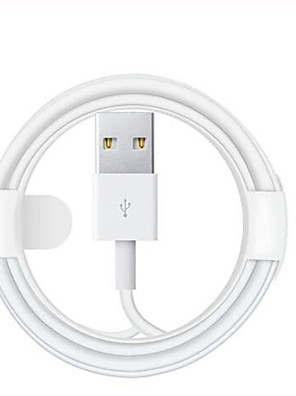 cheap Cell Phone Cables-Lightning Cable 2.0m(6.5Ft) Normal TPE USB Cable Adapter For iPhone