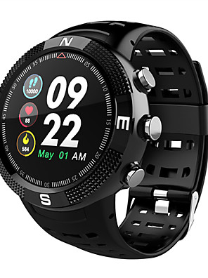 cheap Smart Watches-F18 Smart watch outdoor GPS positioning IP68 waterproof blood pressure heart rate monitoring fitness tracker watch call reminder