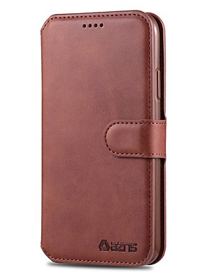 cheap iPhone Cases-Case For Apple iPhone 11 / iPhone 11 Pro / iPhone 11 Pro Max Wallet / with Stand / Flip Full Body Cases Solid Colored PU Leather