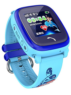 cheap Smart Watches-Smartwatch Digital Modern Style Sporty Silicone 30 m Water Resistant / Waterproof Heart Rate Monitor Bluetooth Digital Casual Outdoor - Purple Blue