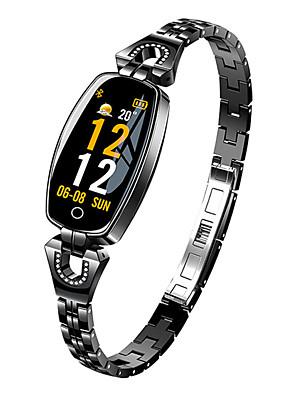 cheap Quartz Watches-H8 Women's Smart Wristbands Bluetooth Waterproof Heart Rate Monitor Blood Pressure Measurement Distance Tracking Information Pedometer Call Reminder Activity Tracker Sleep Tracker Sedentary Reminder