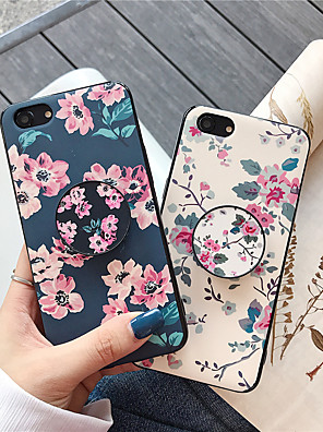 cheap iPhone Screen Protectors-Case For Apple iPhone XS / iPhone XR / iPhone XS Max with Stand / Pattern Back Cover Flower TPU for iPhone X 8 8PLUS 7 7PLUS 6 6S 6PLUS 6SPLUS