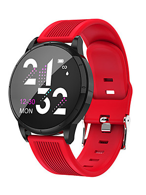 cheap Smart Watches-Women's Digital Watch Digital Formal Style Modern Style Casual Water Resistant / Waterproof Silicone Black / Red / Green Digital - Black Red Blushing Pink