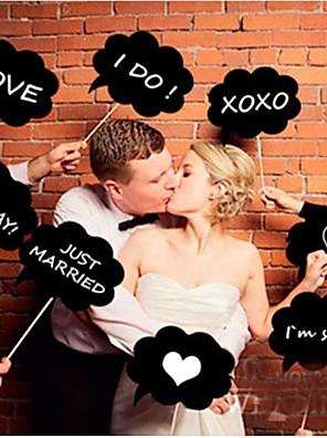 cheap Swimwear&Bikinis-Wedding Photo Booth Props Bride To Be Funny Photobooth Props Wedding Photo Decor Just Married Decor