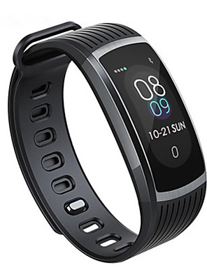 cheap Smart Watches-Smartwatch Digital Modern Style Sporty Silicone 30 m Water Resistant / Waterproof Heart Rate Monitor Bluetooth Digital Casual Outdoor - Black Black / Blue black / gold