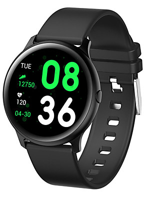 cheap Smart Watches-Smartwatch Digital Modern Style Sporty Silicone 30 m Water Resistant / Waterproof Heart Rate Monitor Bluetooth Digital Casual Outdoor - Black White Blue
