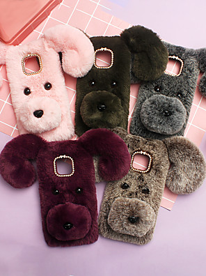 cheap Huawei Case-Case For Huawei Applicable to P30/P20/Mate20 Cute Plush Teddy Dog Mate9/Mate10 Cute Plush Teddy Dog Nova3i Men and Women Models P10 Lite/P30 Pro Shatter-resistant Mobile Phone Case
