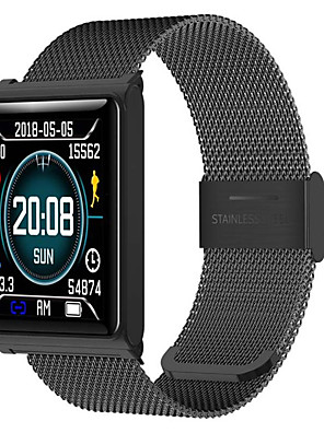 cheap Smart Watches-Smartwatch Digital Modern Style Sporty Silicone 30 m Water Resistant / Waterproof Heart Rate Monitor Bluetooth Digital Casual Outdoor - Black Silver Blue