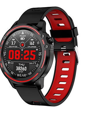 cheap Smart Watches-Smartwatch Digital Modern Style Sporty Silicone 30 m Water Resistant / Waterproof Heart Rate Monitor Bluetooth Digital Casual Outdoor - Black Green Red