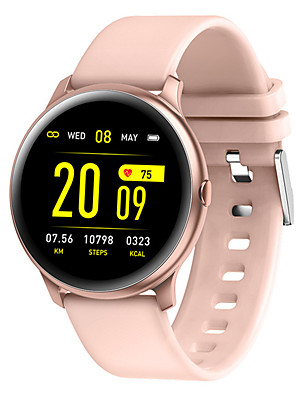 cheap Smart Watches-KW19 Smart Watch BT Fitness Tracker Support Notify/ Heart Rate Monitor Sport Bluetooth Smartwatch Compatible IOS/Android Phones