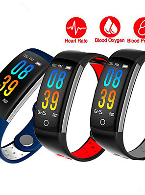 cheap Smart Watches-Smartwatch Digital Modern Style Sporty Silicone 30 m Water Resistant / Waterproof Heart Rate Monitor Bluetooth Digital Casual Outdoor - Blue Red Gray